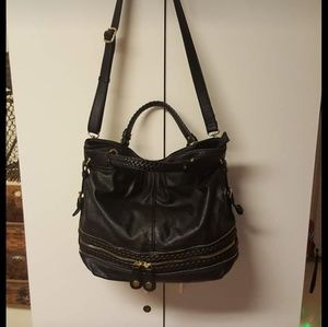 Brand new large leather purse